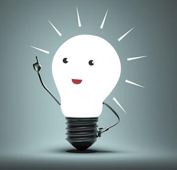 Smiley Light Bulb